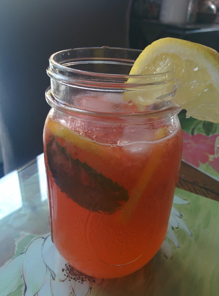 Personal Strawberry Mint Lemonade